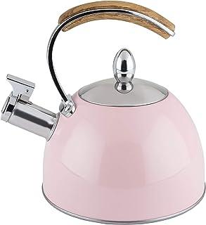 Pinky Up 9410 Presley Tea Kettle, 70 oz, Pink