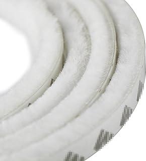 Tira autoadhesiva para puerta, sello contra el viento y el polvo. 5 m. Tira de 9 x 15 mm, de Uooom