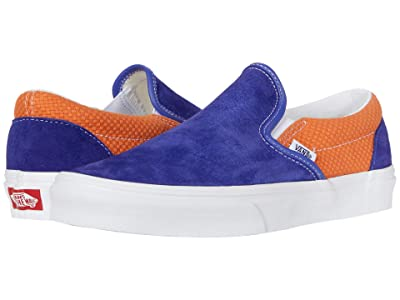 Vans Classic Slip-Ontm ((P&C) Royal Blue/Apricot Bff) Skate Shoes
