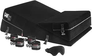 Liberator Black Label 24-Inch Wedge/Ramp Combo (Regular) with Cuff Kit, Black Microfiber