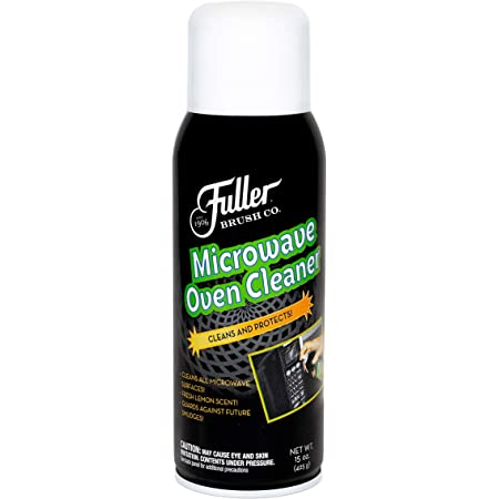 Fuller Brush Microwave Oven Cleaner -No Fume Commercial Micro Foam Cleaning Spray & Deodorizer For Convection Ovens & Turbo - Clean, Odor & Grease Free Kitchen Appliances