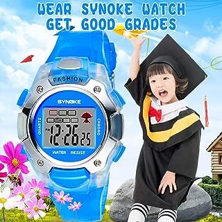 Digital Students Luminous Casual Sports Children Waterproof Wristwatch Gift
