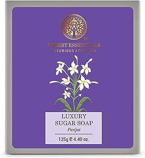 Forest Essentials Luxury Sugar Soap Parijat 125g