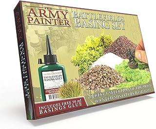 The Army Painter | Battlefields Basing Set | Collection de base pour Socles et Décors avec Guide et Colle Gratuits pour la...