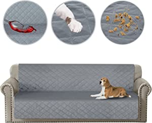 HDCAXKJ 100% Waterproof Blanket Dog Bed Cover Washable Pet Couch Covers Anti-Slip Sofa Slipcover Removable Mattress Furniture Protector Reusable Dogs Pee Pad for Pets Cats Kids