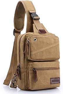 XINCADA Sling Bag Man Purse Small Backpack Shoulder Crossbody Bags Travel Bag Chest Pack Messenger Bag for Men and Women