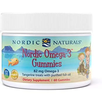 Nordic Naturals Omega 3 Gummies (60)