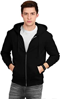 fanideaz Men's Cotton Hooded Sweatshirt with Zip