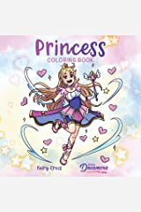 Princess Coloring Book: For Kids Ages 4-8, 9-12: 13 Paperback