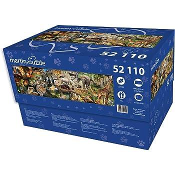 Puzzle 50000 pièces (Total 52110) Le Premier Puzzle Qui Peut surveiller Plus de 50000 pièces.