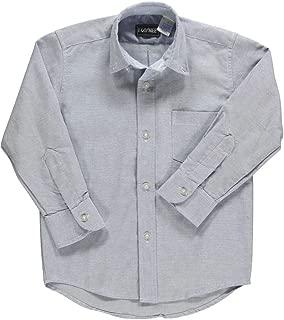 Rifle Kaynee Unisex' L/S Button-Down Shirt - blue, 18