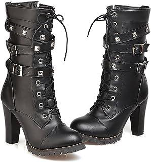 e5a7d85ee0e52 Amazon.com: 12.5 - Mid-Calf / Boots: Clothing, Shoes & Jewelry