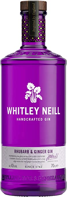 Whitley Neill Rhubarb & Ginger Gin, 700 ml