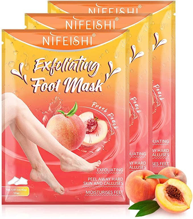 778 opinioni per Maschera Piedi (3 Paia), Foot Peel Mask, Maschera Piedi Esfoliante Baby Foot