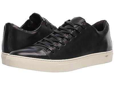 John Varvatos Collection Reed Low Top Sneaker (Black) Men