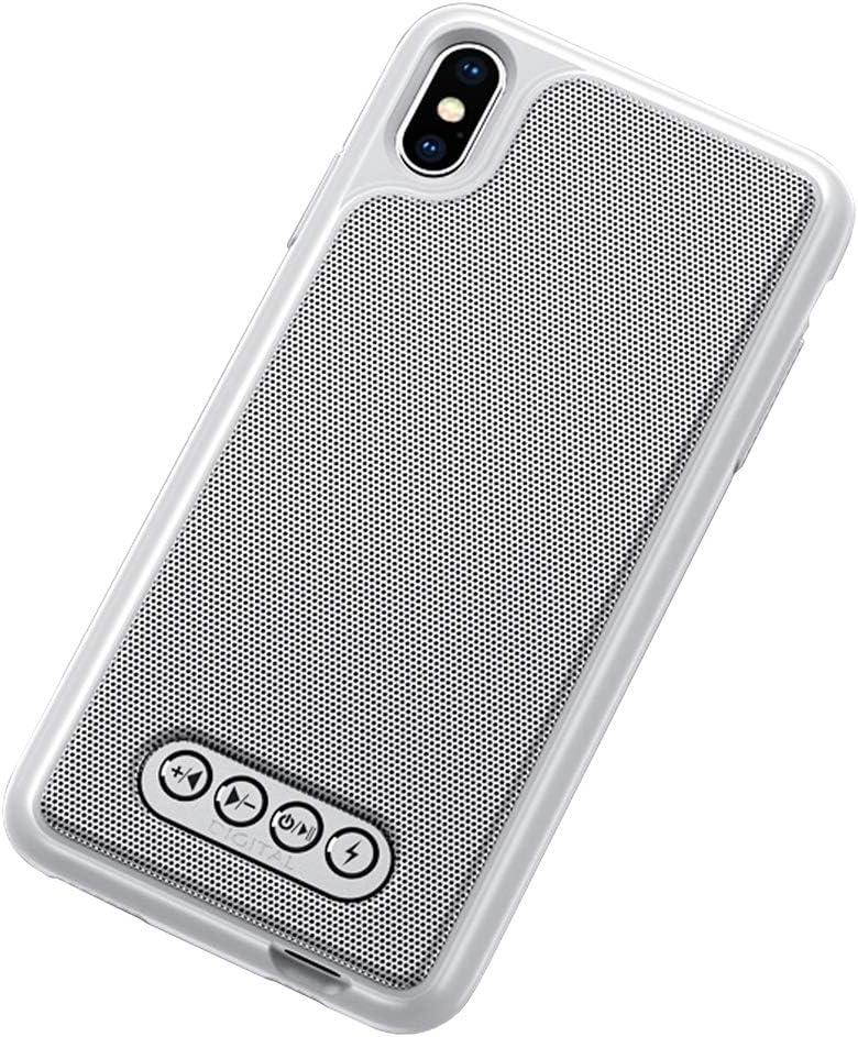 iPhone X/iPhone Xs Case Bluetooth Speaker Phone Case Back Clip