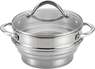 Circulon Stainless Steel Universal Steamer with Lid