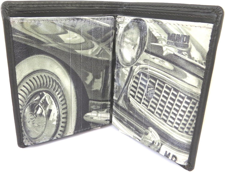 Mundi [N8735]  Leather wallet 'Mundi' vintage brown (22 cards) 11.5x9x2 cm (4.53''x3.54''x0.79'').
