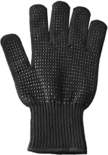 LANPRO Professional Heat Resistant Glove for Hair Styling Anti-Scald Heat Blocking Gloves Non-Slip Styling Gloves for Straighteners Curling Flat Iron, Fit for Both Hands & All Sizes 1pcs