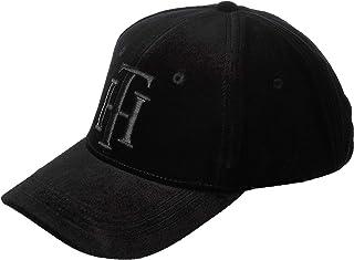قبعة مخملية للنساء من تومي هيلفجر، لون ازرق، مقاس واحد