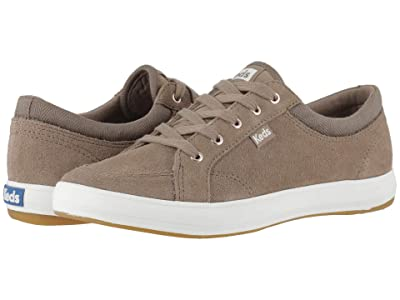 Keds Center Suede Mix (Walnut Suede/Canvas) Women