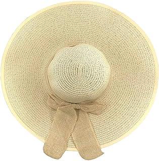 قبعات شمس الشاطئ الصيفية عريضة الحواف للنساء قبعات قش مرنة قبعة للسفر إكسسوارات الشاطئ