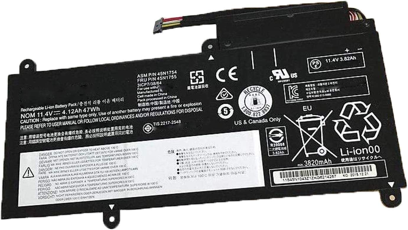 45N1754 45N1755 Laptop Battery Spring new work one after Great interest another for Lenovo E450 E450C E4 ThinkPad