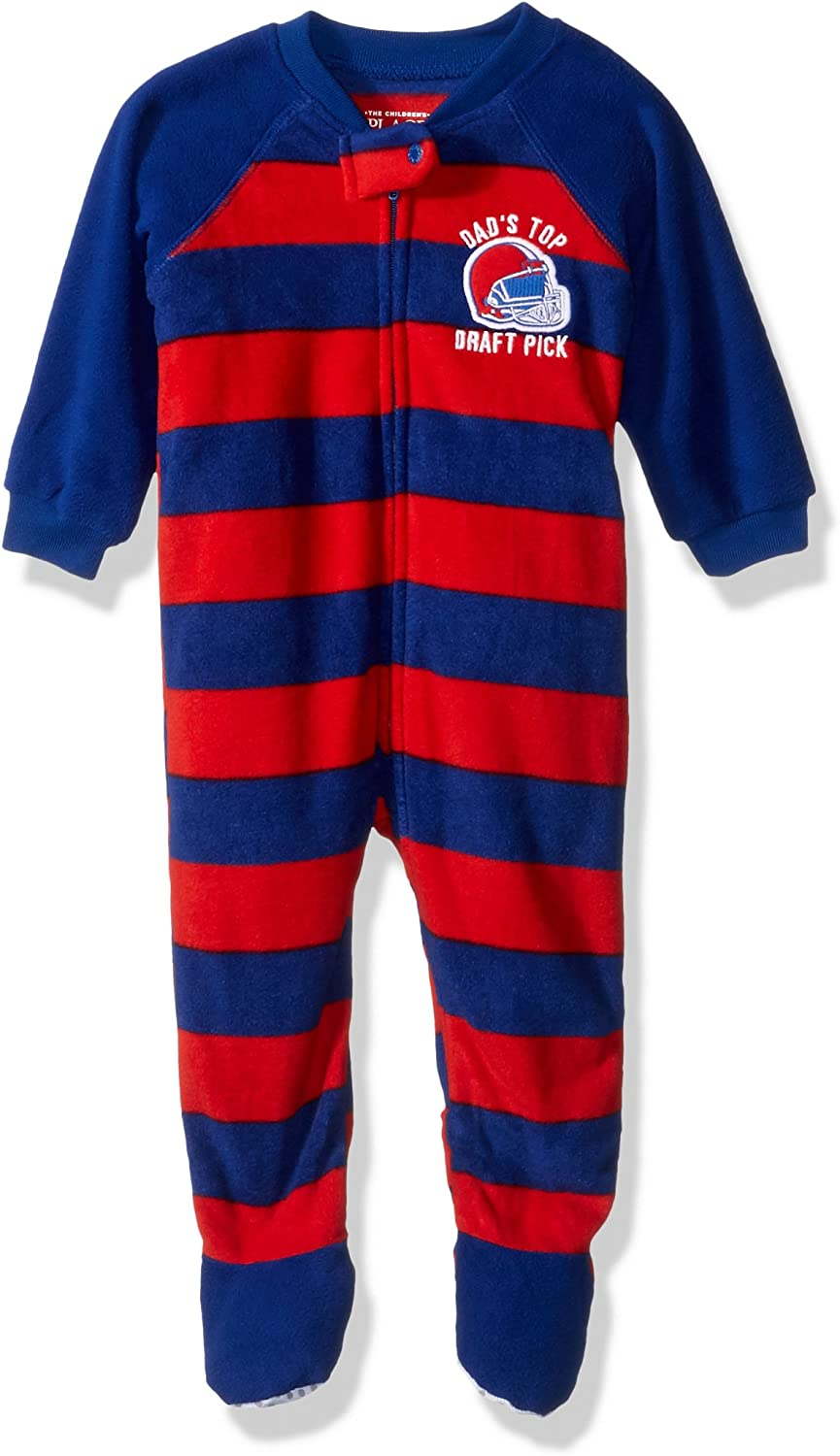 The Children's Place Baby Boys' Stretchie Pajamas