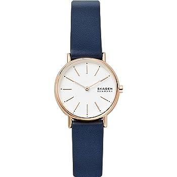 Skagen Women's Analog Quartz Watch with Leather Strap SKW2838