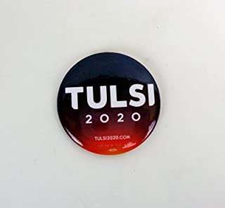 Tulsi Gabbard For President 2020 Official Campaign Button Pin Pinback