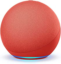 Echo (4th generation)   With premium sound, smart home hub and Alexa   PRODUCT(RED)