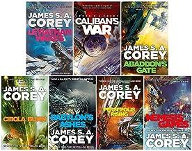 James S. A. Corey Expanse Series 7 Books Collection Set (Leviathan Wakes, Caliban's War, Abaddon's Gate, Cibola Burn, Neme...
