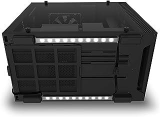 NZXT Underglow Accessory - AH-2UGKD-B1 - Two 200mm RGB LED Strips - 15 LEDs Per Strip - CAM-Powered - Immersive Desktop Li...