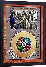 led zeppelin signed cd