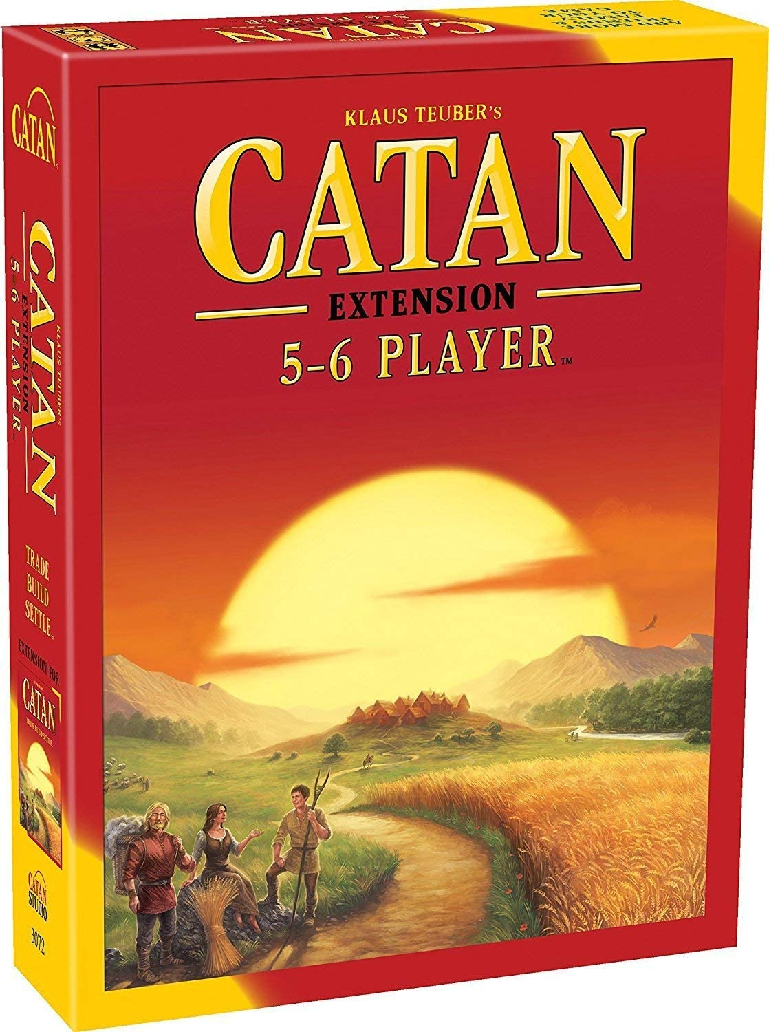 Catan Board Game Extension Allowing a Total of 5 to 6 Players for The Catan Board Game | Family Board Game | Board Game for Adults and Family | Adventure Board Game | Made by Catan Studio