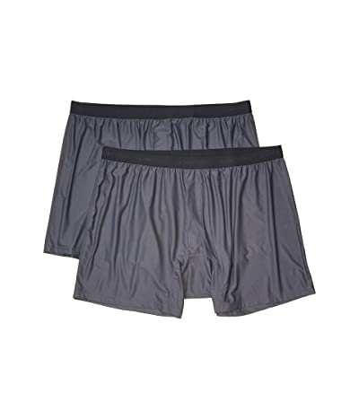 ExOfficio Give-N-Go(r) 2.0 Boxer 2-Pack (Steel Onyx) Men