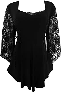 black corset lace top