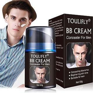 BB Cream For Men,Men's Revitalising Nourishing Tone Up BB Cream,Concealer For Men,CC Cream For Men,Big Pores Perfect Cover,Face Primer,Skin Corrector,Suitable for All Skin Types