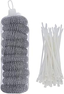 lint Traps for Washing Machine Hose, lint Catcher for Washing Machine, Stainless Steel and Rust Proof, Washing Machine Lin...