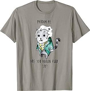The Hamilton Cat T-Shirt Hamilton T Shirt Men
