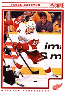 2012/13 Score NHL Hockey Card # 176 Pavel Datsyuk Detroit Red Wings