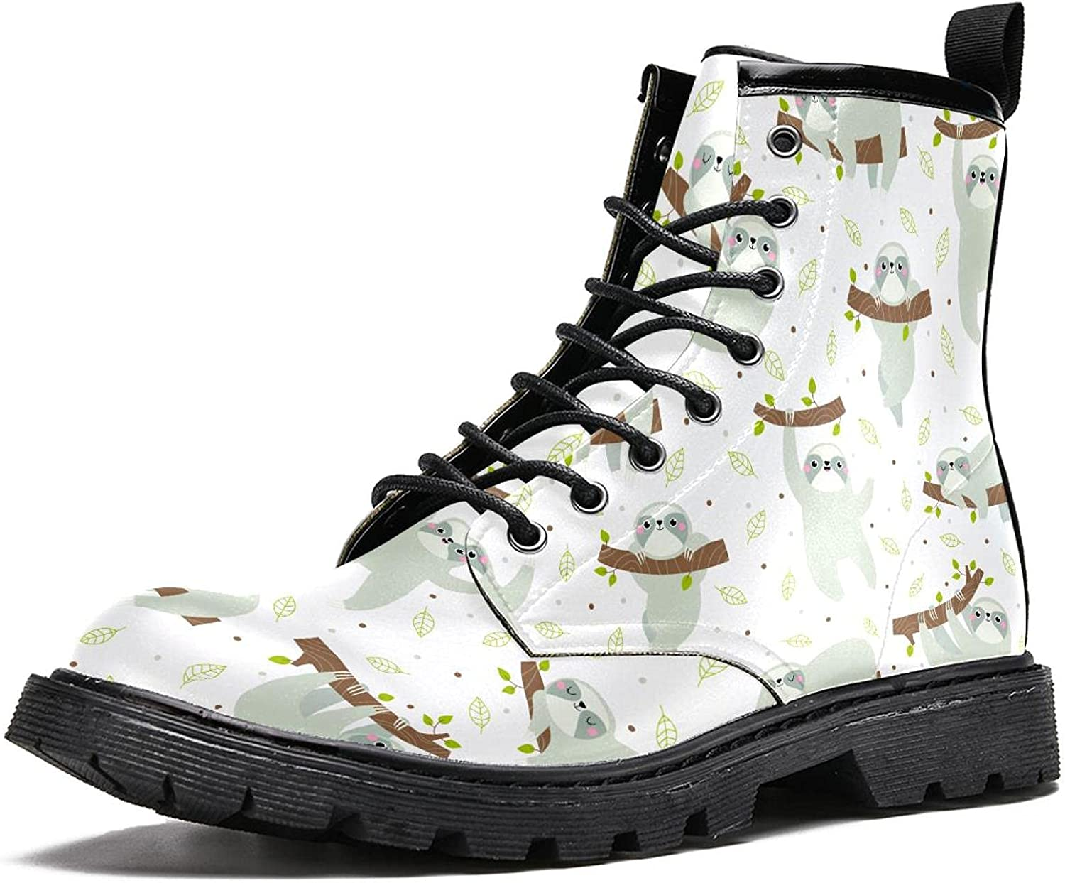 cute sloth Max 61% OFF Men's Stylish High Durable Max 74% OFF Hiking Boots Top Le