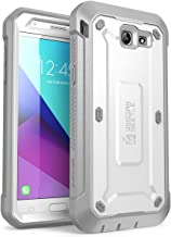 Samsung Galaxy J7 2017, Galaxy Halo Case, SUPCASE [UB Pro Series] Full-Body Rugged Holster with Built-in Screen Protector for Galaxy Halo/J7 2017 (SM-J727), Not fit J7 2018 (SM-J737) (White)