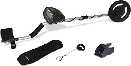 Treasure Cove TC-3020 Gold Finder Metal Detector Set with LED Display, Headset,