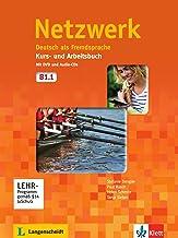Netzwerk b1, libro del alumno y libro de ejercicios, parte 1 + cd + dvd: Deutsch als Fremdsprache