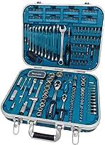 Makita Juego de herramientas 227 piezas, 1 pieza, P de 90532