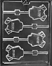 Grandmama's Goodies B062 Baby Onesie Lollipop Chocolate Candy Soap Mold with Exclusive Molding Instructions