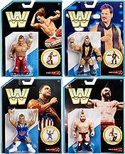 Ringside WWE Retro Series 7 - Complete Set of 4 Mattel WWE Retro Figures (Shawn Michaels, Chris Jericho, Sheamus & Kurt Angle)