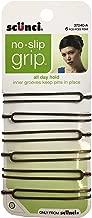 Scunci No-Slip Grip Hair Pins, 6 ct