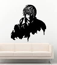 Anime Vinyl Wall Decal Death Note Silhouette Yagami Light Manga Hentai Vinyl Stickers Mural MK4849
